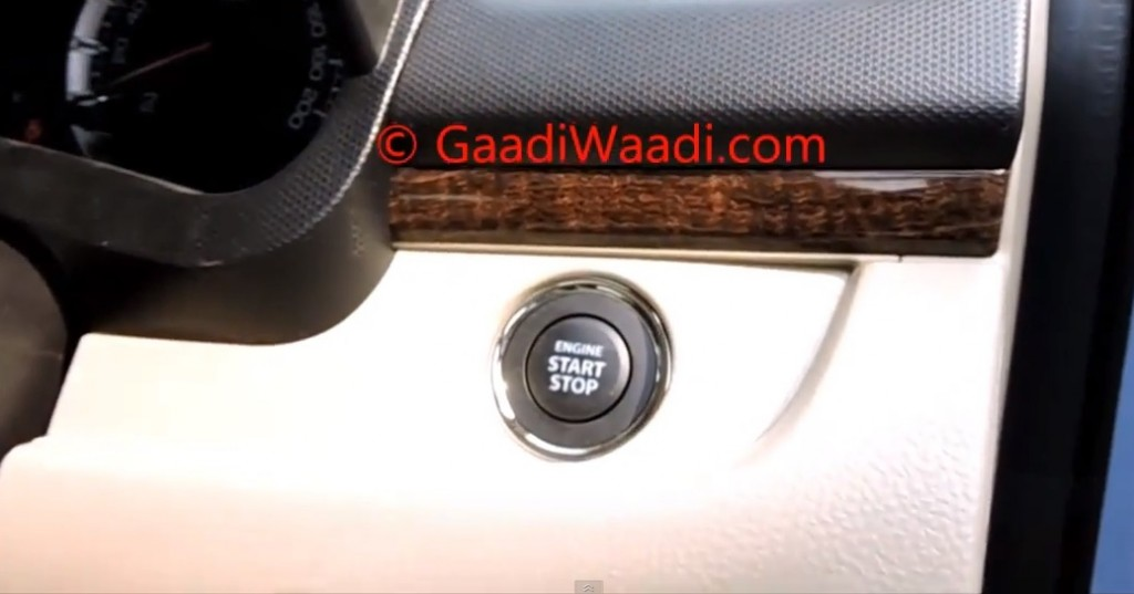 2015 Maruti Dzire (facelift) ZDi gets push-button start, parking